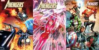 Avengers #25 First Print - Alex Ross Variant - Anacleto Variant (U-Pick)
