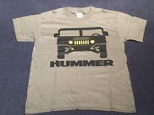 1/18 GM General Hummer Kids Medium Humvee Short Sleeve T Shirt Green 100% Cotton