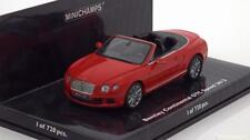 BENTLEY CONTINENTAL GTC SPEED 2012 ST JAMES RED MINICHAMPS 436139061 1/43 ROSSO