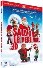 Blu Ray 3D + 2D  //  SAUVONS LE PÈRE NOËL - 3D  //  NEUF cellophané