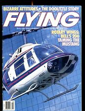 Flying Magazine October 1988 Bell 206 Helicopter EX No ML 120316jhe