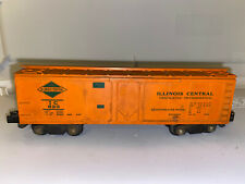 American Flyer #623 Orange Painted IC Illinois Central Reefer Car