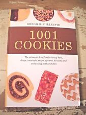1001 COOKIES Ultimate A - Z Collection Of Recipes Gillespie Very Clean Cookbook