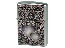 "ZIPPO ""MOTHER OF PEARL - LOVE"" LIGHTER * NEW in WOODEN BOX *"
