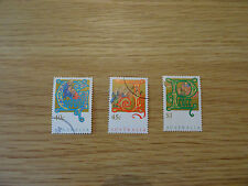 STAMPS AUSTRALIA    SET OF 3 CHRISTMAS STAMPS    1993   USED   AUSTRALIAN
