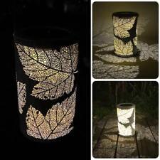 Maple Leaf LED Solar Power Light Portable Lantern Waterproof Outdoor Garden Lamp
