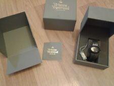 Vivienne Westwood Swiss Black Ellipse Watch VV014CHBK
