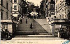 CPA LYON L'Escalier de la Place Satonay (461648)