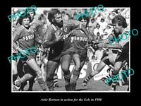 OLD 8x6 HISTORICAL PHOTO OF ARTIE BEETSON IN ACTION FOR PARRAMATTA EELS c1980