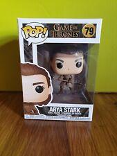 💕 💖 Juego de Tronos Funko Pop #79 Arya Stark dos cabezas lanza + Protector 💖 💕