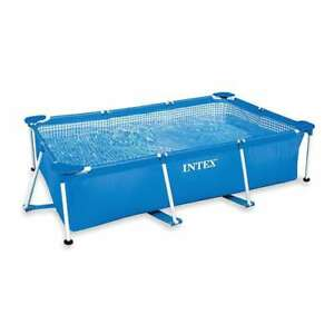 Intex 8.5ft x 26in Rectangular Frame Above Ground Swimming Pool(Open Box)