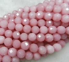 AAA 6mm Faceted pink Ruby Loose Beads Gemstone 15""