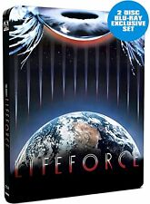 Lifeforce Blu-ray (Limited Edition Steelbook) (Brand New, Sealed)