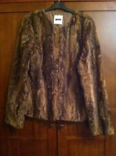 Next Fur Jacket Size 16 New With Tags