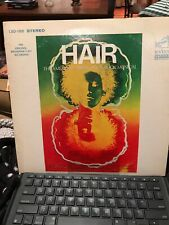 Hair The American Tribal Love Rock Musical lp Shrink with play bill