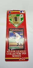1991 Score Frank Thomas #840 Baseball Card M.V.P and Collector Pin Series