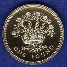 Gran Bretaña, prueba de 1991 £ 1, Una Libra Moneda, N Lino De Irlanda (ref. t1629)