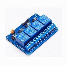 4 Channel Relay Module DC 5V With Optocoupler For Arduino PIC ARM AVR DSP