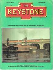 The Keystone PRR Winter 1988 Ferries From Philadelphia Metroliner Story Speed