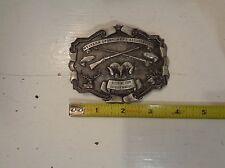 Vintage Western Sportsmen's Association 1976 Bergamont Brass Works Belt Buckle