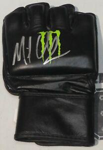 MICHAEL MIKE CHANDLER SIGNED AUTO'D MONSTER MMA GLOVE BAS COA BELLATOR CHAMP