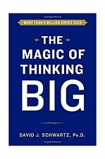 The Magic of Thinking Big, Hardcover, New, Free Shipping
