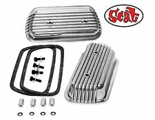 VW SCAT BOLT-ON ALUMINUM VALVE COVERS W/ GASKET RETAINERS bug  from RADKE Serv.