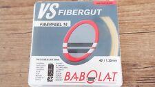 Babolat VS Fibergut Feel 16 Racquet Strings 1.30mm Made in France 09337