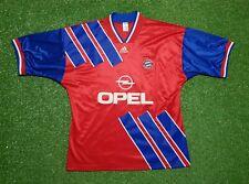 FC Bayern München Trikot XL 1993 1994 Adidas Munich Football shirt jersey Opel
