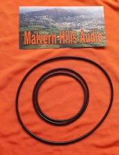 3 x Piece Drive Belt Set for The Uher Report 4000, 4200, 4400, Uher Report IC