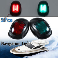 2x Signal Indicator Navigation Light LED Side Lamp Starboard Marine Nav Port 12V