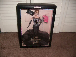 1999 40th Anniversary Barbie Collector Edition NRFB Box Sealed Perfect Box