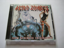 CD - Astro Zombies - From Strength To Strength - Psychobilly