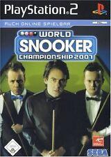 World Snooker Championship 2007 mit Anleitung (PS2) - DVD fast wie Neu