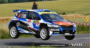 RALLY TRANSKIT 1/43 DECAL DAVID BOGIE SKODA FABIA R5 YPRES 2017 BRC ERC WRC