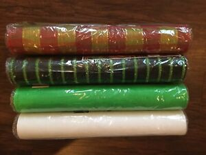 """Deco Poly Mesh Roll Various Colors 21"""" X 10 Yards Art Crafts Wreaths"""