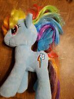 """TY My Little Pony Sparkle Rainbow Dash Plush Stuffed Toy Size 6"""""""
