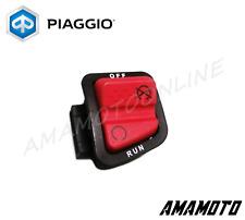 DEVIO PULSANTE ARRESTO MOTORE PIAGGIO FLY,BEVERLY,CARNABY,MP3,X7,X8,X9,X-EVO