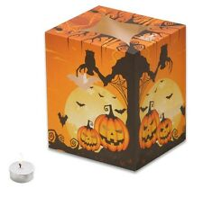 HALLOWEEN PUMPKIN GATHERING CANDLE BAGS - 5 Pack