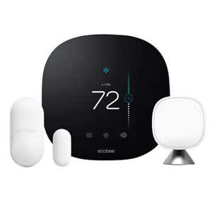 NEW ecobee3 lite Smart Thermostat w/ Whole Home Sensors Energy Star Wi-Fi 2.4GHz
