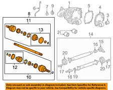 Chevrolet GM OEM 13-15 Camaro Rear Suspension-Axle Assembly Left 22806795
