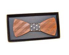 Bow Tie Wooden Wood Men Wedding S Necktie Bowtie Tuxed Fashion Gifts Novelty