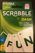 Scrabble DashFamily Card Game 2-4 players Recommended for 10+ years