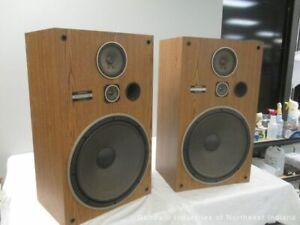 Vintage Pioneer CS G403 Floor Speakers Made in USA (MB)