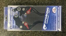 Hyosung GT250 GT650 Adjustable Brake and Clutch Levers KIT NEW - 95750H997000BK