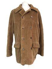 Diesel Jacket Corduroy Large l Coat Brown 52 Chest Vintage