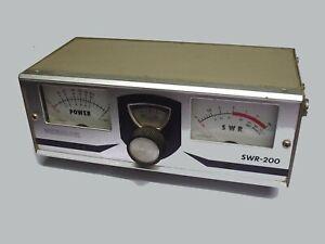OSKERBLOCK SWR-200   TOS METRE controle emission radioamateur ondes courtes