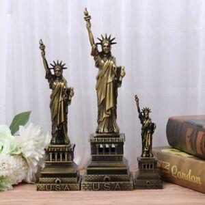 USA Landmarks Statua Della Libertà Creative Retro Metal Model Decorazioni Per La