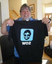 "Steve ""Woz"" Wozniak T Shirt APPLE COMPUTER Co-Founder Creator X Large Brand NEW"