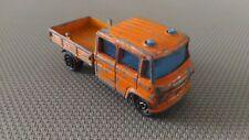 Camion Miniature Majorette « Mercedes Travaux Publics N°233 » 1/70 Bon Etat.